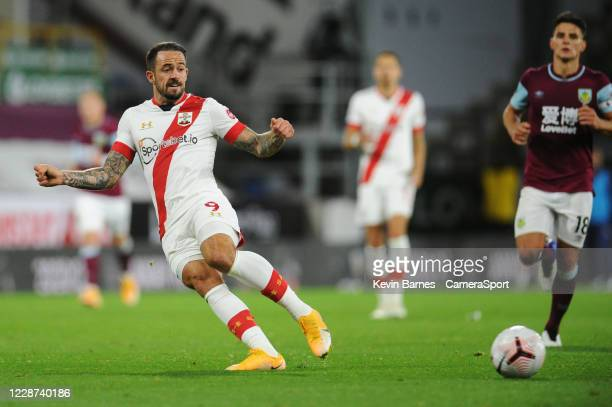 Southampton's Danny Ings during the Premier League match between Burnley and Southampton at Turf Moor on September 26 2020 in Burnley United Kingdom