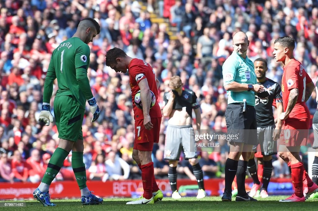 FBL-ENG-PR-LIVERPOOL-SOUTHAMPTON : News Photo