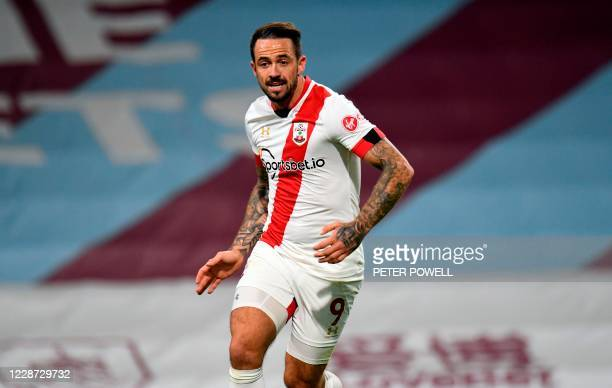 Southampton's English striker Danny Ings during the English Premier League football match between Burnley and Southampton at Turf Moor in Burnley,...
