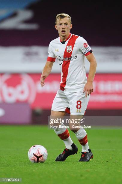 Southampton's James WardProwse during the Premier League match between Burnley and Southampton at Turf Moor on September 26 2020 in Burnley United...