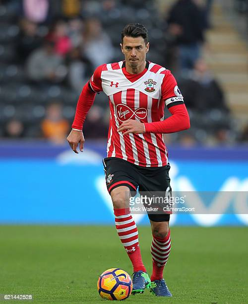 Southampton's Jose Fonte during the Premier League match between Hull City and Southampton at KC Stadium on November 6 2016 in Hull England