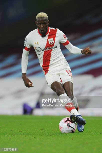 Southampton's Moussa Djenepo during the Premier League match between Burnley and Southampton at Turf Moor on September 26 2020 in Burnley United...