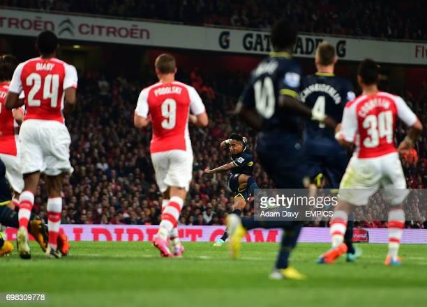Southampton's Nathaniel Clyne scores their second goal