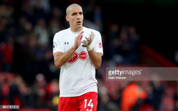 Southampton's Oriol Romeu during the Premier League match between AFC Bournemouth and Southampton at the Vitality Stadium on December 3 2017 in...