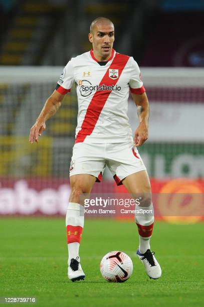 Southampton's Oriol Romeu during the Premier League match between Burnley and Southampton at Turf Moor on September 26 2020 in Burnley United Kingdom