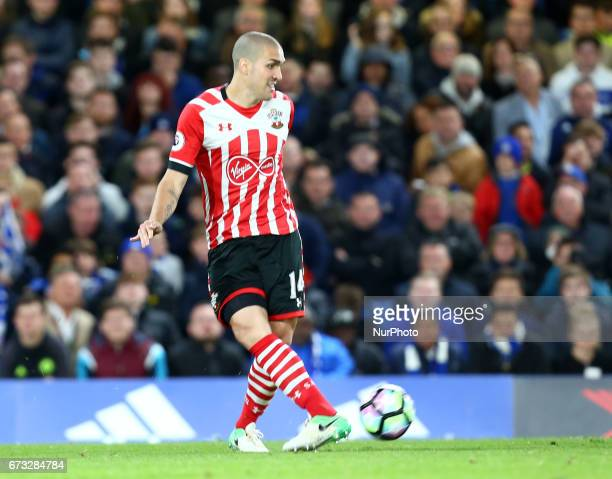 Southampton's Oriol Romeu during the Premier League match between Chelsea and Southampton at Stamford Bridge London England on 25 April 2017