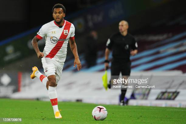 Southampton's Ryan Bertrand during the Premier League match between Burnley and Southampton at Turf Moor on September 26 2020 in Burnley United...