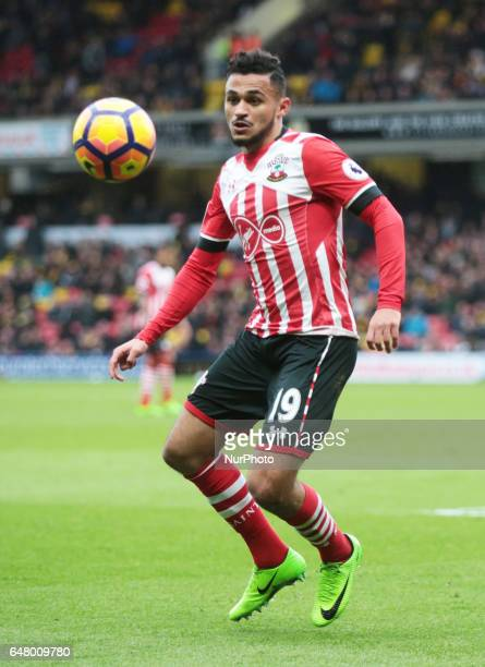 Southampton's Sofiane Boufal during EPL Premier League match between Watford against Southampton at Vicarage Road Watford Britain 04 Mar 2017