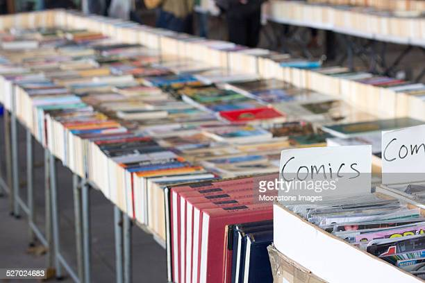 southbank book market in london, england - comic book stock pictures, royalty-free photos & images