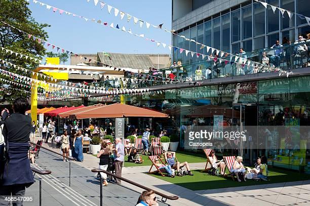 サウスバンクセンター、英国博覧会の創立 60 周年祝典 - ロンドン サウスバンク ストックフォトと画像