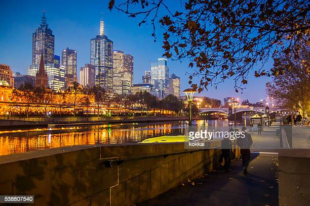 Southbank in Melbourne
