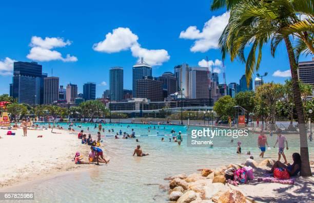 Southbank Parkland, Brisbane.