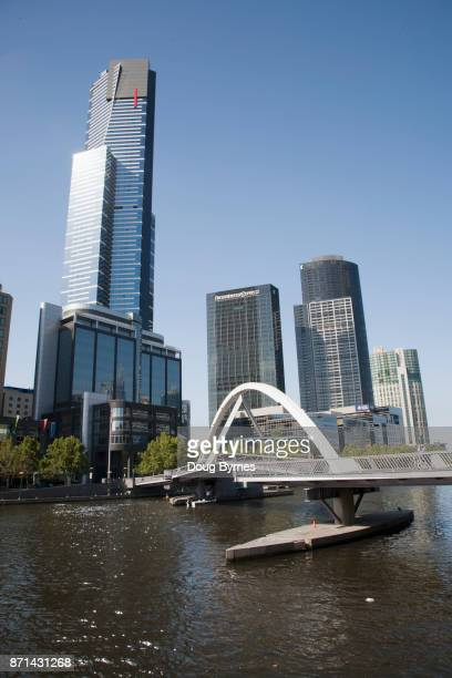 Southbank Pedestrian Bridge across the Yarra River