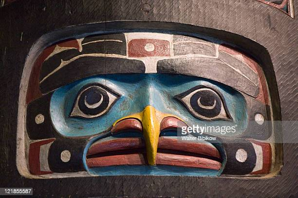 southeast alaska, sitka - totem pole stock pictures, royalty-free photos & images