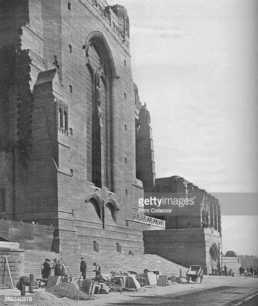 Southeast transept, Liverpool Cathedral, 1926. Designed by Giles Gilbert Scott and built on St James Mount, in the centre of Liverpool, this is the...