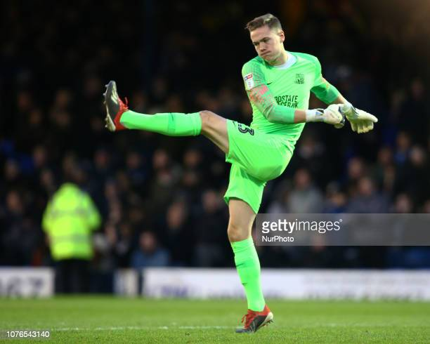 Southend 01 January 2019 Nathan Bishop of Southend United during Sky Bet League One match between Southend United and Gillingham at Roots Hall Ground...