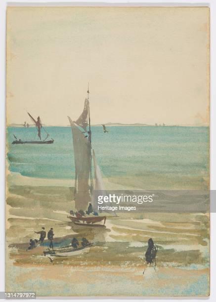 Southend - The Pleasure Yacht, 1882-1884. Artist James Abbott McNeill Whistler.