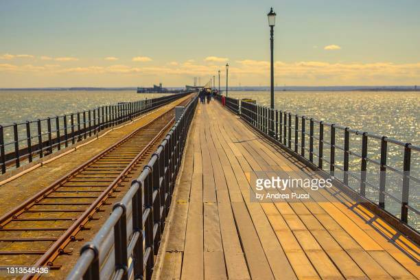 southend-on-sea, essex, united kingdom - southend on sea stock pictures, royalty-free photos & images