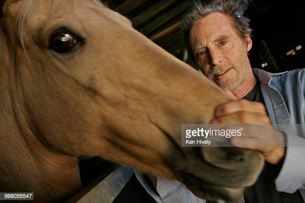 JD Souther spends some time at the Los Angeles Equestrian Center Veteran Southern California singersongwriter John David Souther a former...