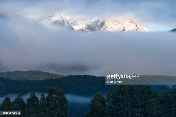 southern alps above paradise - don smith ストックフォトと画像