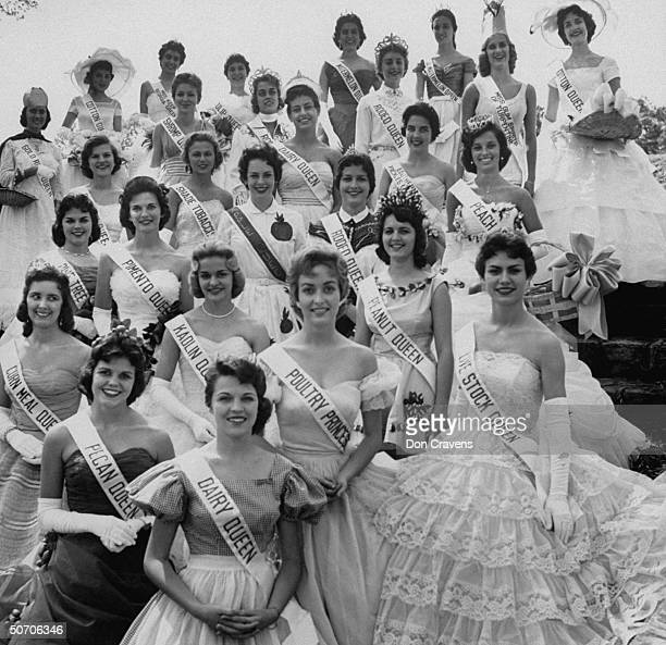 Southern beauty queens at festival