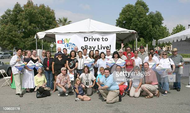 Southern California eBay members start their engines for drive to eBay Live! A free tank of gas was given to registered eBay Live! drivers making the...