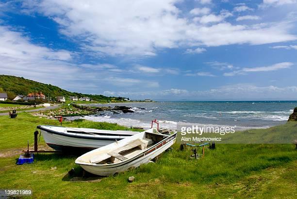 Southern coast of Isle of Arran, near Kildonan. Scotland, UK