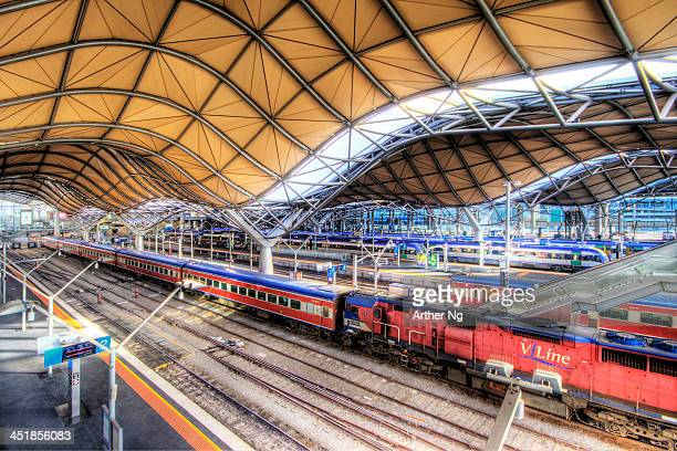 Southern Cross Railway Station</a> in Melbourne, Victoria, Australia