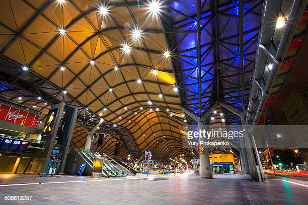 Southern Cross Station at Night, Melbourne