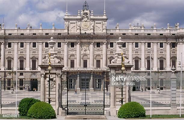 Southern facade of the Royal Palace of Madrid architects Filippo Juvarra and Giovanni Battista Sacchetti Spain 18th century
