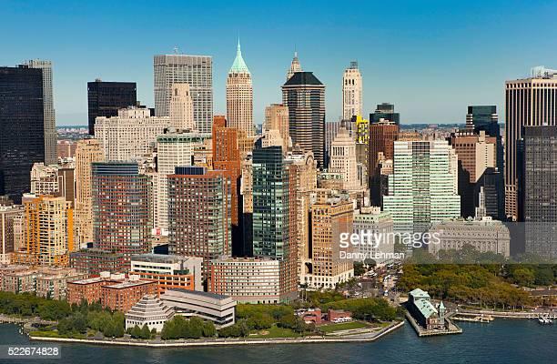 Southern Manhattan's Lower West Side Skyline, New York
