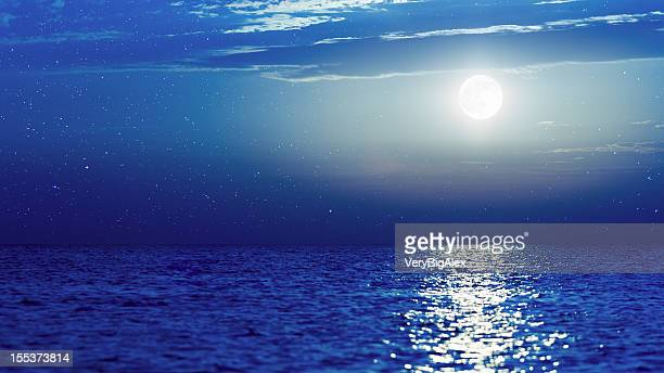 southern night, wonderland - moonlight stock pictures, royalty-free photos & images