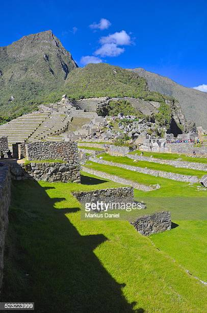 """southern part of machu picchu, peru - """"markus daniel"""" stock pictures, royalty-free photos & images"""