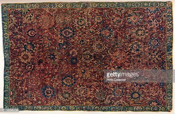 Southern Persian Isfahan carpet 16th century From The Connoisseur Volume LXXXII [The Connoisseur Ltd London 1928] Artist Unknown