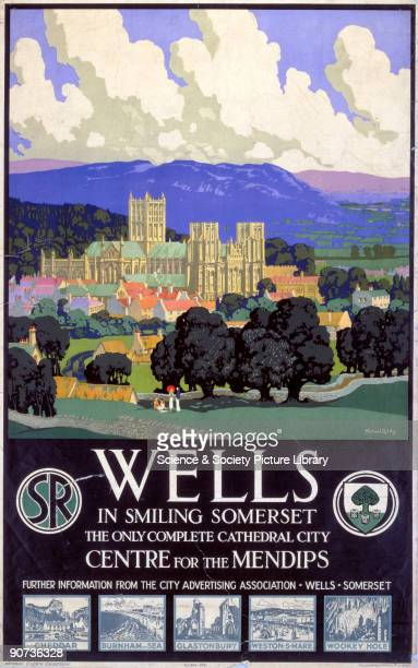 Southern Railway poster Artwork by Michael Reilly