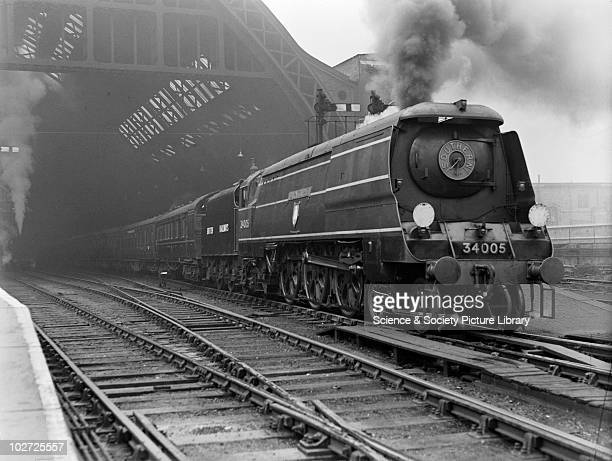 Southern Railway West Country Pacific no 34005 at St Pancras