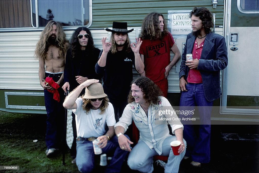 Lynyrd Skynyrd Backstage : News Photo