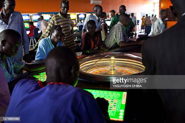 Southern Sudanese gamble at a casino in Juba January 5 2010 Sudanese President Omar alBashir said on Sunday that the country's north will reinforce...
