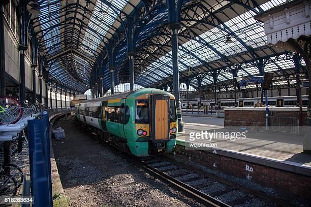 Southern train at Brighton Station