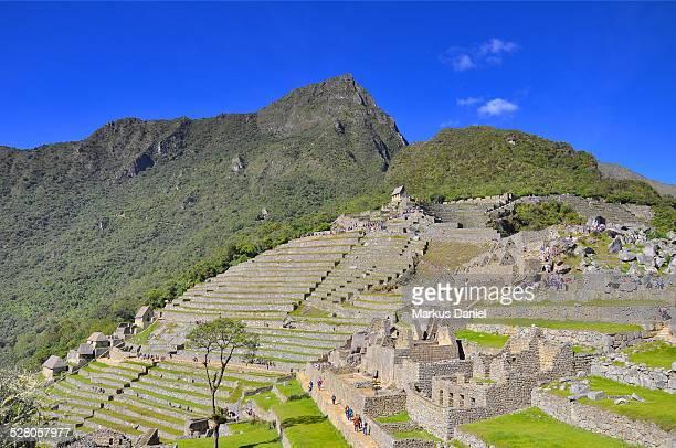 Southern View of Machu Picchu and Mt. Machu Picchu