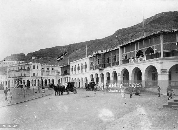 a street in Aden probably in the 1910s