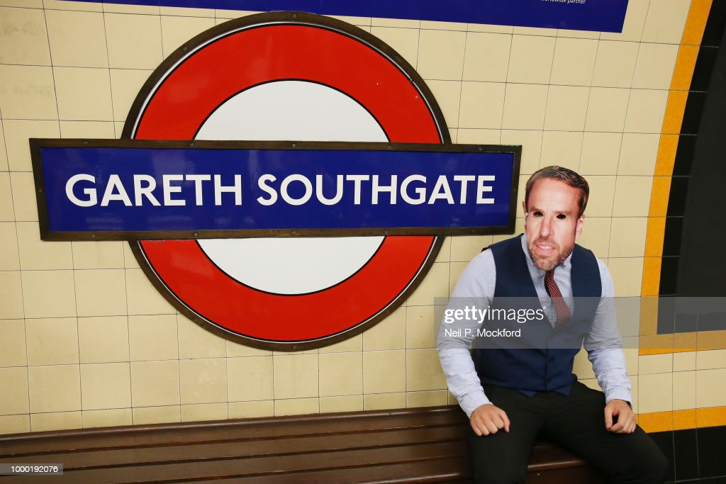 Gareth Southgate Tube Station