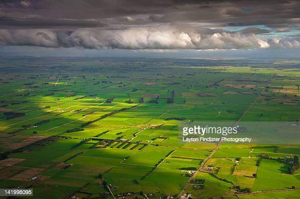 southland plains - invercargill stock pictures, royalty-free photos & images