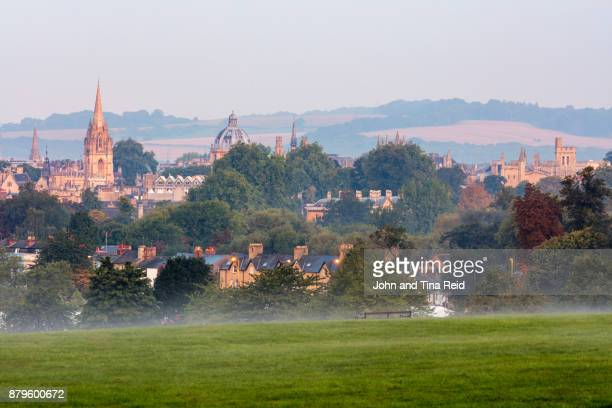 southpark views - oxford spires - oxford england stock pictures, royalty-free photos & images