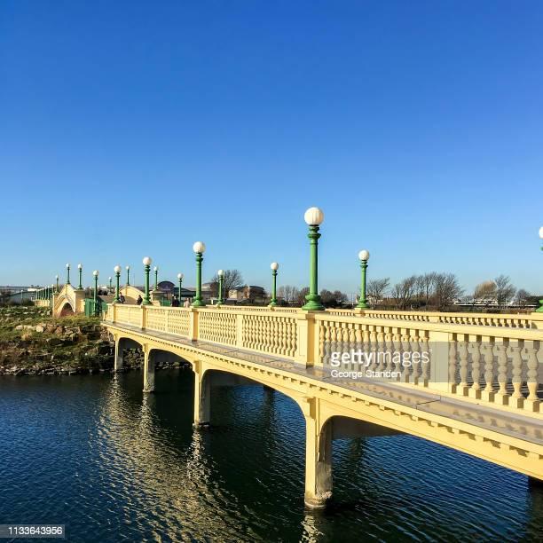 サウスポートマリンレイク - イングランド サウスポート ストックフォトと画像