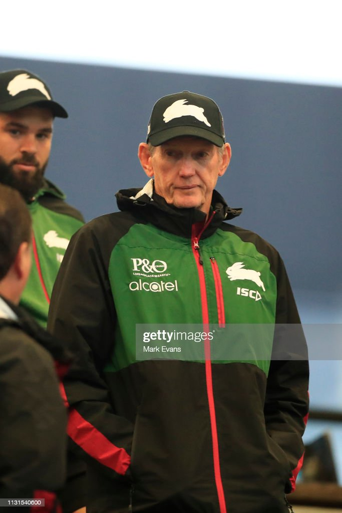 Souths Coach Wayne Bennett Looks On During The Nrl Trial Match News Photo Getty Images