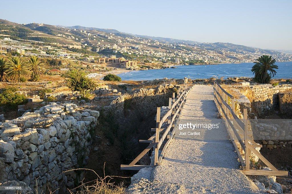 ビブロス,Lebanon : ストックフォト