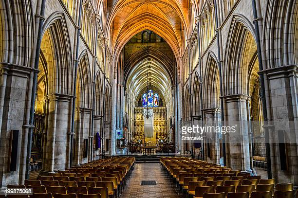 Southwark Cathedral Interior - London, UK