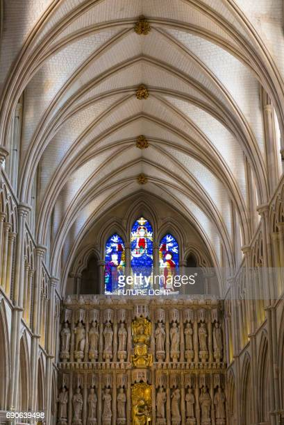 Southwark Cathedral Interior, South Bank, London, England, UK, Europe