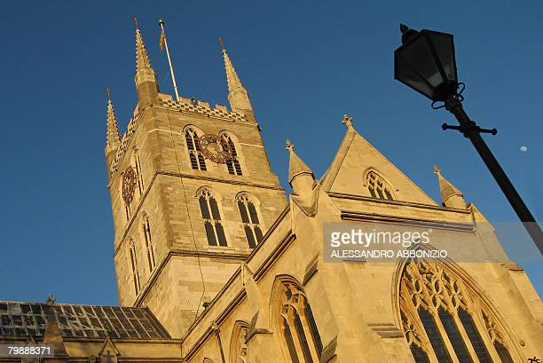 Southwark Cathedral is pictured in London on February 17 2008 AFP PHOTO/ALESSANDRO ABBONIZIO